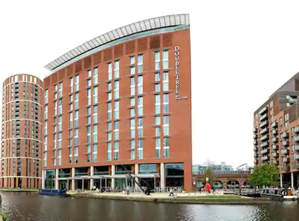 DOUBLETREE BY HILTON LEEDS CITY CENTRE header image