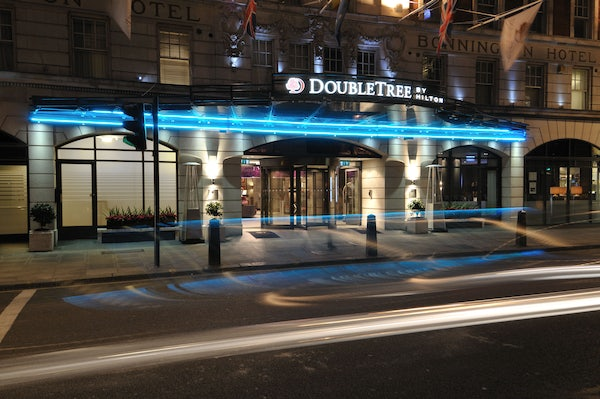 DOUBLETREE by HILTON LONDON WEST END header image